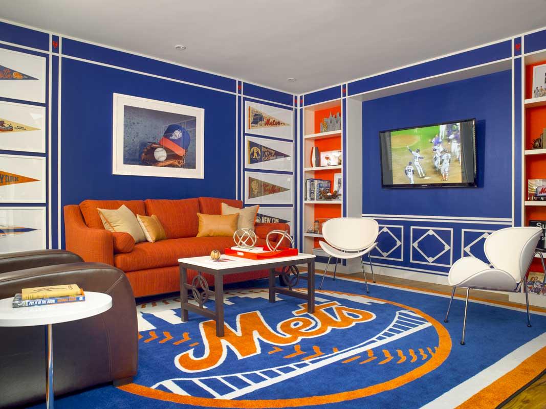 N Y Mets Room Matthew Patrick Smyth Interior Designs